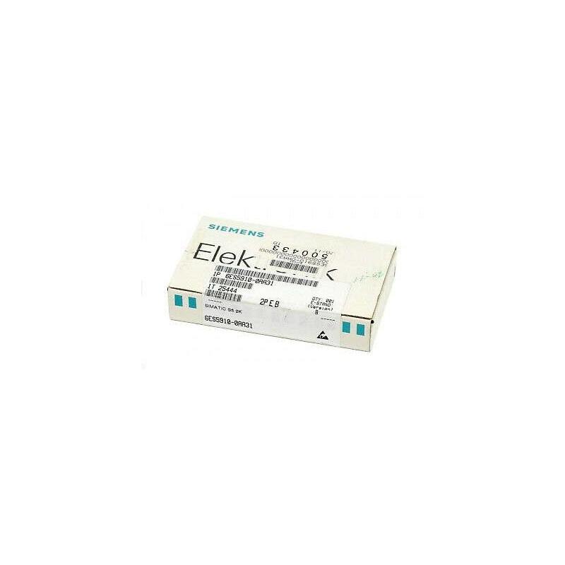 6ES5910-0AA31 Siemens SIMATIC S5, 910 MEMORY SUBMODULE